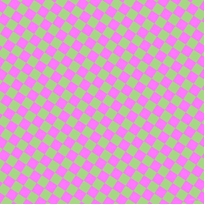 56/146 degree angle diagonal checkered chequered squares checker pattern checkers background, 30 pixel squares size, , Fuchsia Pink and Feijoa checkers chequered checkered squares seamless tileable