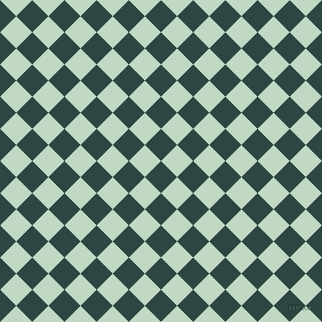 45/135 degree angle diagonal checkered chequered squares checker pattern checkers background, 33 pixel square size, , Gable Green and Edgewater checkers chequered checkered squares seamless tileable