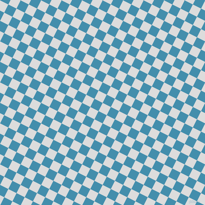 63/153 degree angle diagonal checkered chequered squares checker pattern checkers background, 31 pixel square size, , Gainsboro and Boston Blue checkers chequered checkered squares seamless tileable