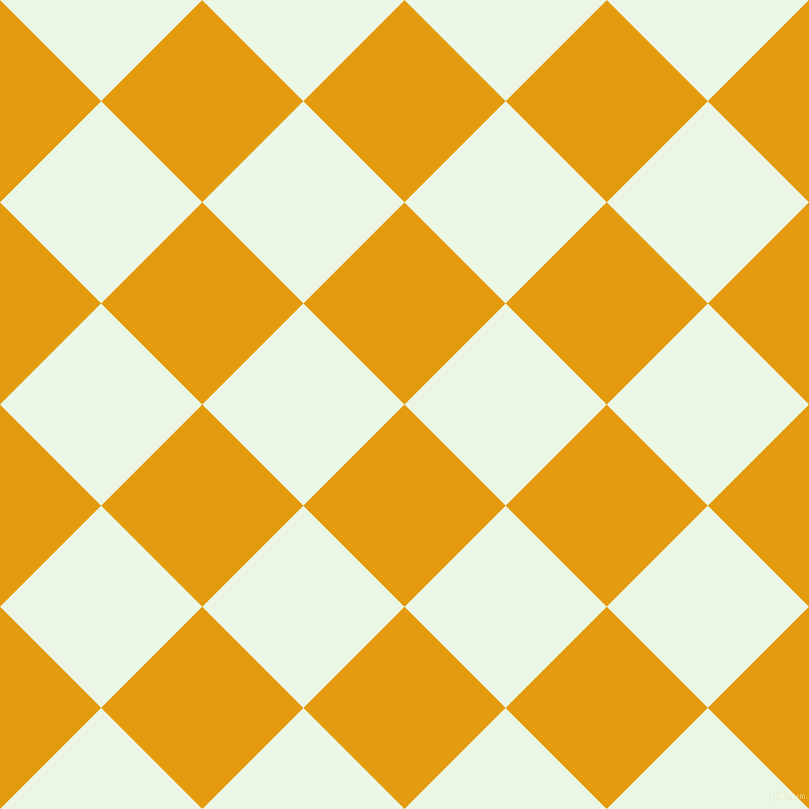 45/135 degree angle diagonal checkered chequered squares checker pattern checkers background, 143 pixel squares size, , Gamboge and Panache checkers chequered checkered squares seamless tileable