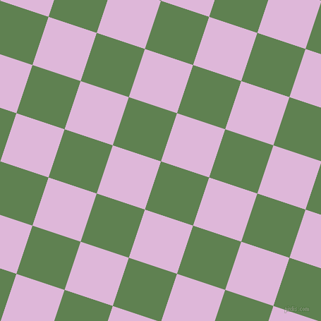 72/162 degree angle diagonal checkered chequered squares checker pattern checkers background, 72 pixel square size, Glade Green and French Lilac checkers chequered checkered squares seamless tileable