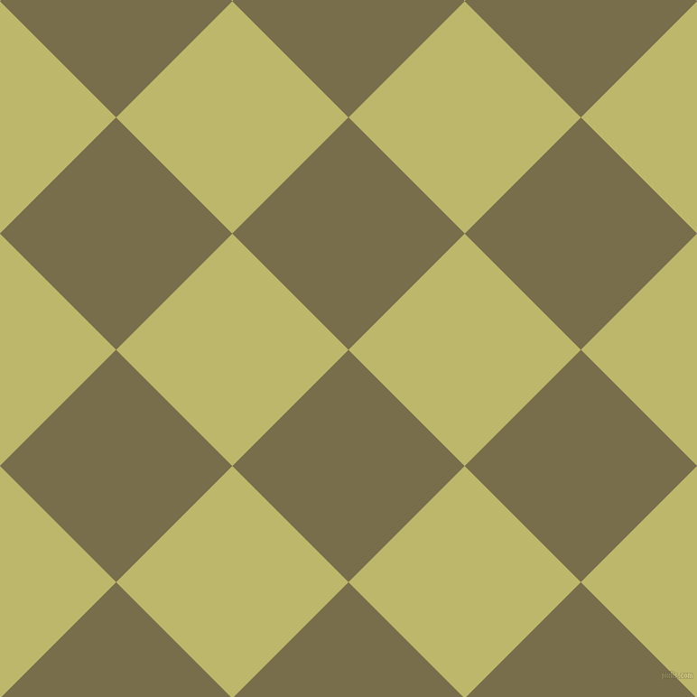 45/135 degree angle diagonal checkered chequered squares checker pattern checkers background, 182 pixel square size, , Go Ben and Dark Khaki checkers chequered checkered squares seamless tileable
