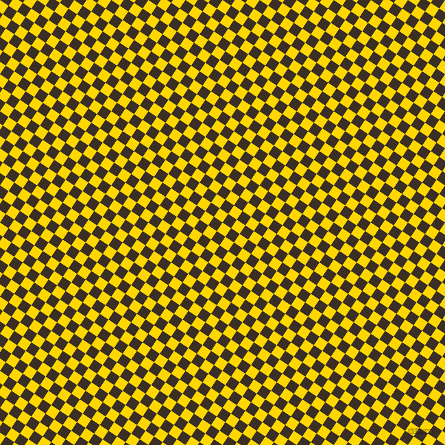 56/146 degree angle diagonal checkered chequered squares checker pattern checkers background, 15 pixel square size, , Gold and Sambuca checkers chequered checkered squares seamless tileable