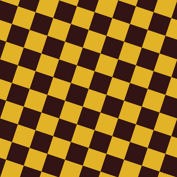72/162 degree angle diagonal checkered chequered squares checker pattern checkers background, 60 pixel squares size, , Gold Tips and Seal Brown checkers chequered checkered squares seamless tileable