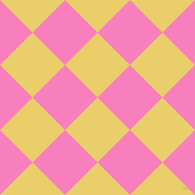 45/135 degree angle diagonal checkered chequered squares checker pattern checkers background, 147 pixel squares size, , Golden Sand and Persian Pink checkers chequered checkered squares seamless tileable