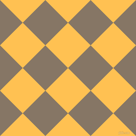 45/135 degree angle diagonal checkered chequered squares checker pattern checkers background, 102 pixel squares size, , Golden Tainoi and Sand Dune checkers chequered checkered squares seamless tileable