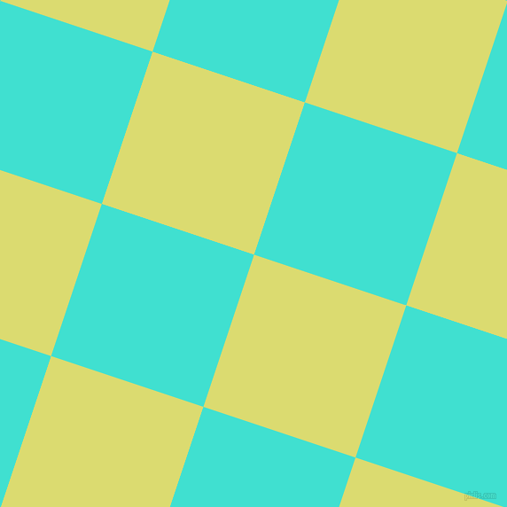 72/162 degree angle diagonal checkered chequered squares checker pattern checkers background, 181 pixel squares size, , Goldenrod and Turquoise checkers chequered checkered squares seamless tileable