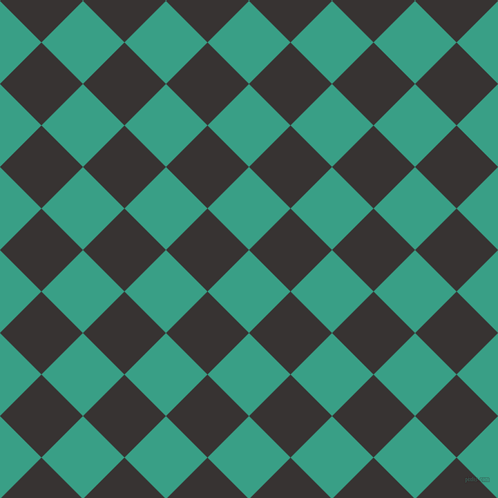 45/135 degree angle diagonal checkered chequered squares checker pattern checkers background, 85 pixel squares size, , Gossamer and Gondola checkers chequered checkered squares seamless tileable