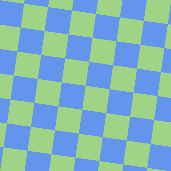 82/172 degree angle diagonal checkered chequered squares checker pattern checkers background, 101 pixel squares size, , Gossip and Cornflower Blue checkers chequered checkered squares seamless tileable