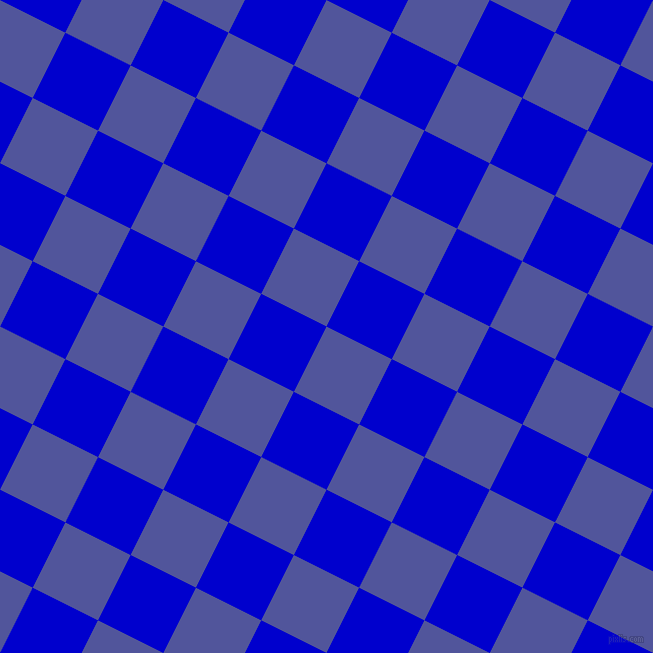 63/153 degree angle diagonal checkered chequered squares checker pattern checkers background, 73 pixel squares size, , Governor Bay and Medium Blue checkers chequered checkered squares seamless tileable