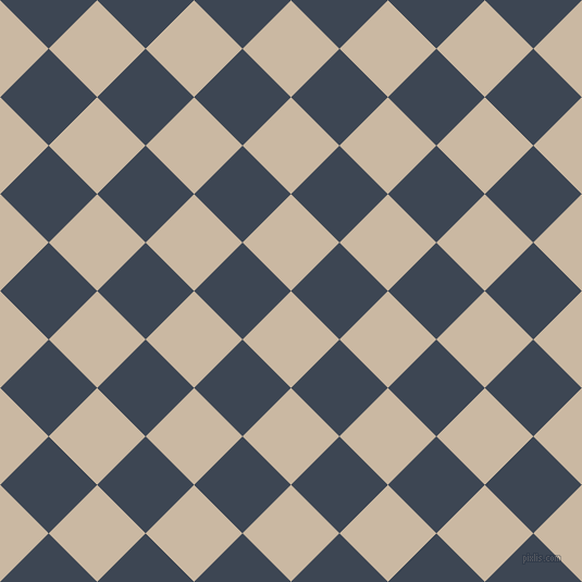 45/135 degree angle diagonal checkered chequered squares checker pattern checkers background, 63 pixel squares size, , Grain Brown and Rhino checkers chequered checkered squares seamless tileable