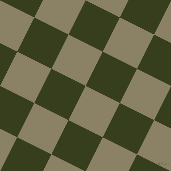 63/153 degree angle diagonal checkered chequered squares checker pattern checkers background, 126 pixel squares size, , Granite Green and Turtle Green checkers chequered checkered squares seamless tileable
