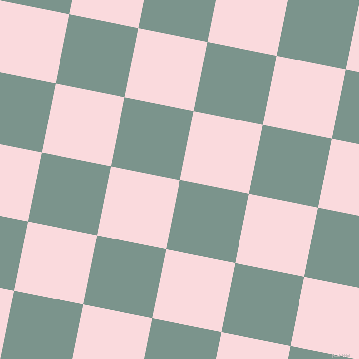 79/169 degree angle diagonal checkered chequered squares checker pattern checkers background, 142 pixel square size, , Granny Smith and Pale Pink checkers chequered checkered squares seamless tileable