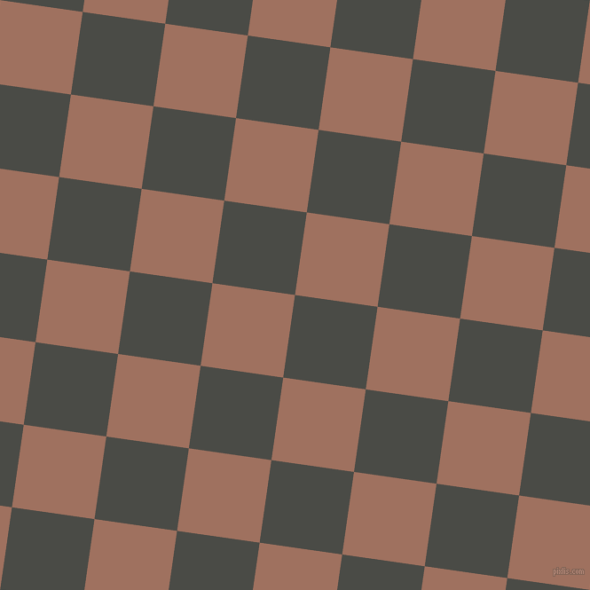 82/172 degree angle diagonal checkered chequered squares checker pattern checkers background, 94 pixel squares size, , Gravel and Toast checkers chequered checkered squares seamless tileable