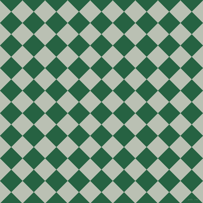 45/135 degree angle diagonal checkered chequered squares checker pattern checkers background, 54 pixel square size, , Green Pea and Tasman checkers chequered checkered squares seamless tileable