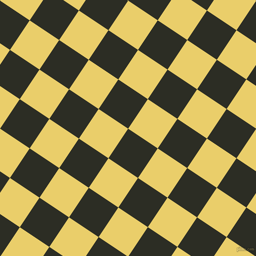 56/146 degree angle diagonal checkered chequered squares checker pattern checkers background, 72 pixel squares size, , Green Waterloo and Golden Sand checkers chequered checkered squares seamless tileable