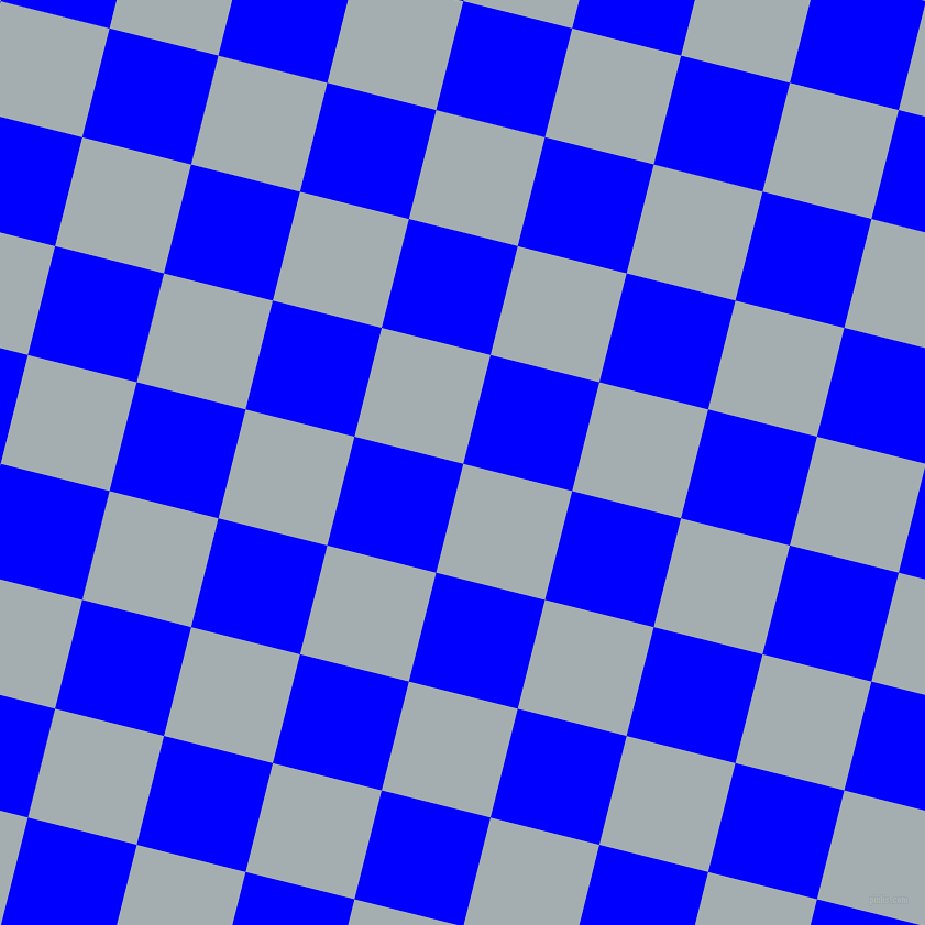 76/166 degree angle diagonal checkered chequered squares checker pattern checkers background, 102 pixel square size, , Gull Grey and Blue checkers chequered checkered squares seamless tileable