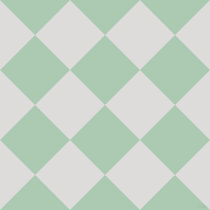 45/135 degree angle diagonal checkered chequered squares checker pattern checkers background, 167 pixel squares size, , Gum Leaf and Porcelain checkers chequered checkered squares seamless tileable