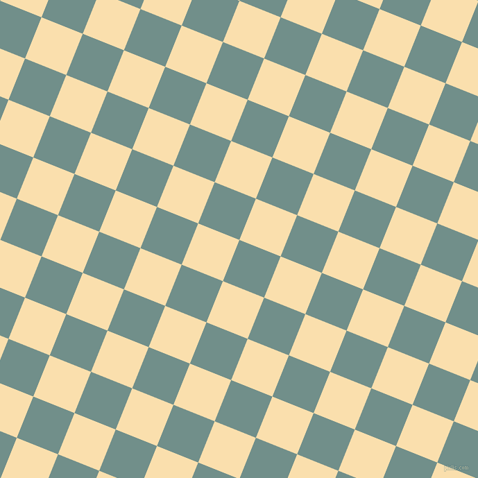 68/158 degree angle diagonal checkered chequered squares checker pattern checkers background, 64 pixel squares size, , Gumbo and Peach-Yellow checkers chequered checkered squares seamless tileable