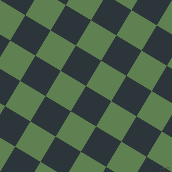 59/149 degree angle diagonal checkered chequered squares checker pattern checkers background, 96 pixel squares size, , Gunmetal and Glade Green checkers chequered checkered squares seamless tileable