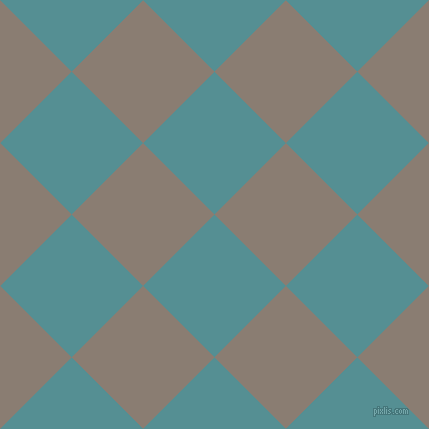 45/135 degree angle diagonal checkered chequered squares checker pattern checkers background, 101 pixel square size, , Half Baked and Americano checkers chequered checkered squares seamless tileable