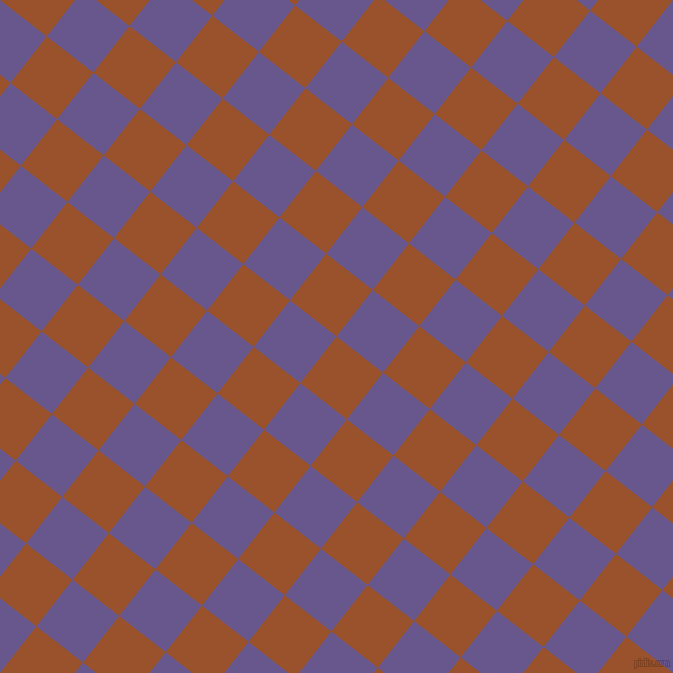 52/142 degree angle diagonal checkered chequered squares checker pattern checkers background, 59 pixel squares size, , Hawaiian Tan and Butterfly Bush checkers chequered checkered squares seamless tileable
