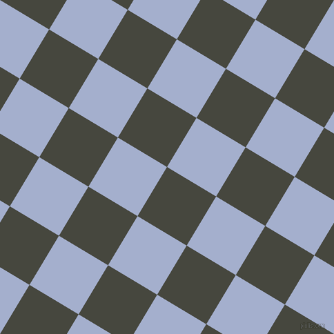 59/149 degree angle diagonal checkered chequered squares checker pattern checkers background, 83 pixel squares size, , Heavy Metal and Echo Blue checkers chequered checkered squares seamless tileable