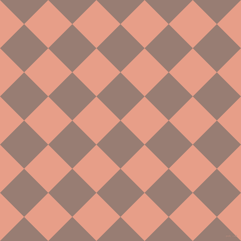 45/135 degree angle diagonal checkered chequered squares checker pattern checkers background, 109 pixel squares size, , Hemp and Tonys Pink checkers chequered checkered squares seamless tileable
