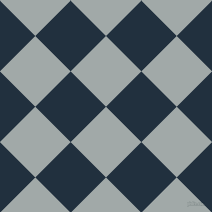 45/135 degree angle diagonal checkered chequered squares checker pattern checkers background, 100 pixel square size, , Hit Grey and Midnight checkers chequered checkered squares seamless tileable