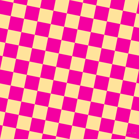 79/169 degree angle diagonal checkered chequered squares checker pattern checkers background, 45 pixel square size, , Hollywood Cerise and Cream Brulee checkers chequered checkered squares seamless tileable