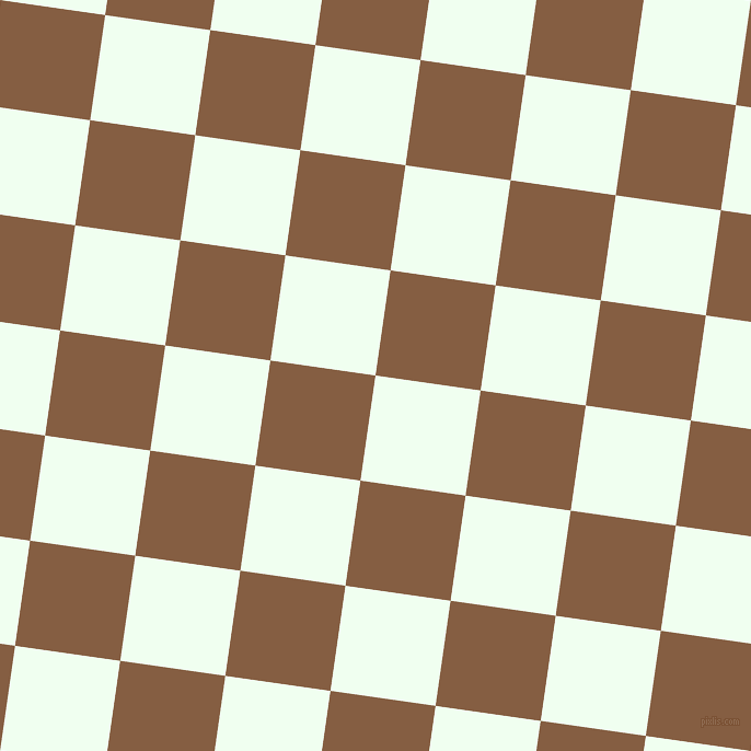 82/172 degree angle diagonal checkered chequered squares checker pattern checkers background, 97 pixel squares size, , Honeydew and Dark Wood checkers chequered checkered squares seamless tileable