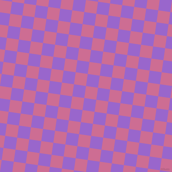 82/172 degree angle diagonal checkered chequered squares checker pattern checkers background, 49 pixel square size, , Hopbush and Amethyst checkers chequered checkered squares seamless tileable