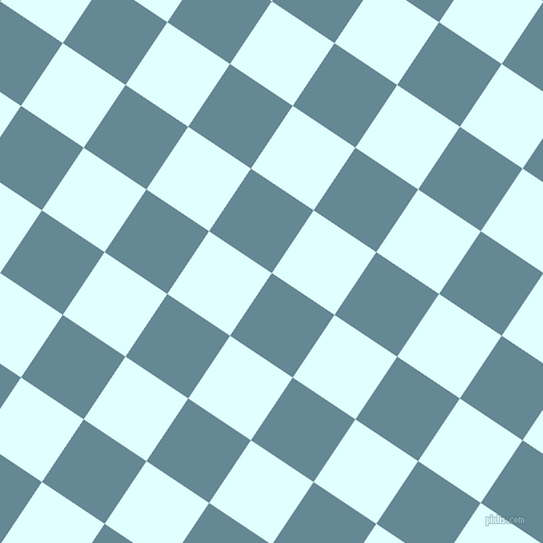 56/146 degree angle diagonal checkered chequered squares checker pattern checkers background, 68 pixel square size, , Horizon and Light Cyan checkers chequered checkered squares seamless tileable