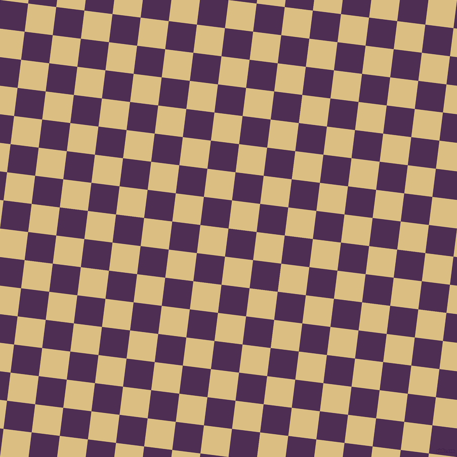 83/173 degree angle diagonal checkered chequered squares checker pattern checkers background, 56 pixel square size, , Hot Purple and Straw checkers chequered checkered squares seamless tileable