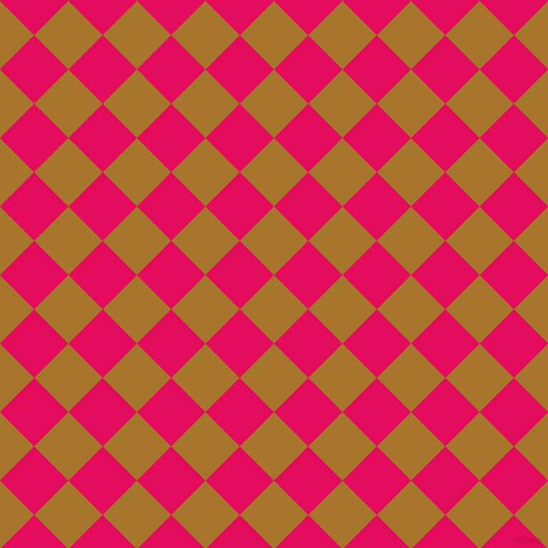 45/135 degree angle diagonal checkered chequered squares checker pattern checkers background, 68 pixel squares size, , Hot Toddy and Razzmatazz checkers chequered checkered squares seamless tileable