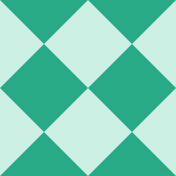 45/135 degree angle diagonal checkered chequered squares checker pattern checkers background, 199 pixel squares size, , Humming Bird and Jungle Green checkers chequered checkered squares seamless tileable