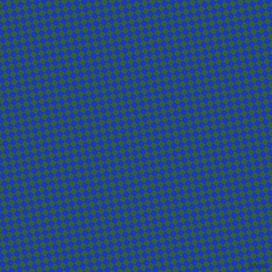 55/145 degree angle diagonal checkered chequered squares checker pattern checkers background, 11 pixel squares size, , Hunter Green and Persian Blue checkers chequered checkered squares seamless tileable