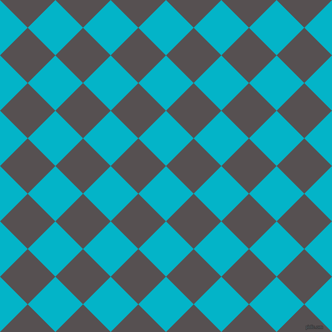 45/135 degree angle diagonal checkered chequered squares checker pattern checkers background, 80 pixel square size, , Iris Blue and Mortar checkers chequered checkered squares seamless tileable