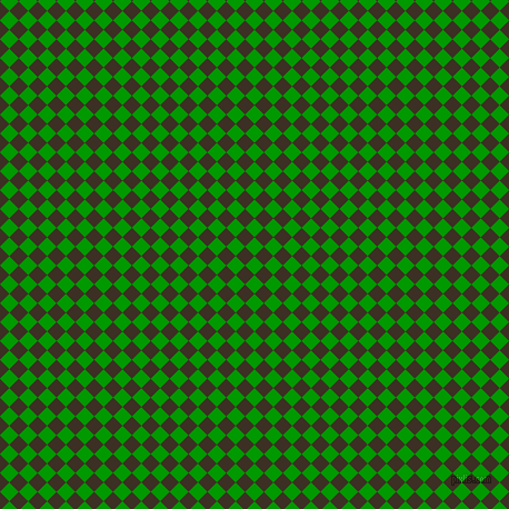 45/135 degree angle diagonal checkered chequered squares checker pattern checkers background, 12 pixel square size, , Islamic Green and Cola checkers chequered checkered squares seamless tileable