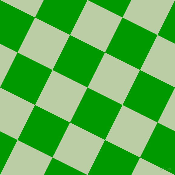 Islamic Green and Pixie Green checkers chequered checkered