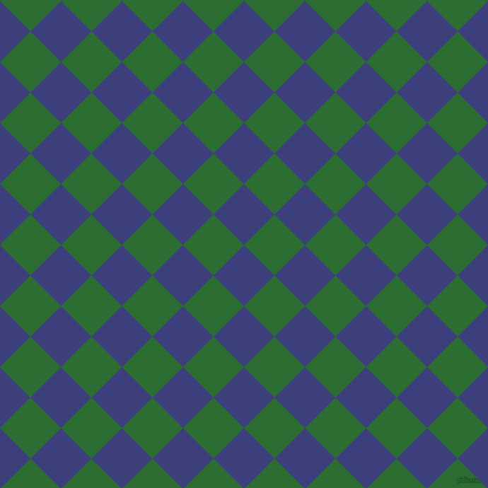 45/135 degree angle diagonal checkered chequered squares checker pattern checkers background, 61 pixel square size, , Jacksons Purple and San Felix checkers chequered checkered squares seamless tileable