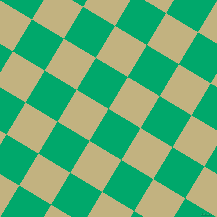 59/149 degree angle diagonal checkered chequered squares checker pattern checkers background, 122 pixel square size, , Jade and Ecru checkers chequered checkered squares seamless tileable