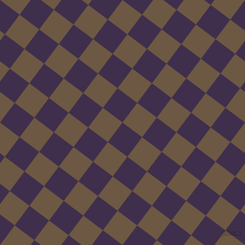 53/143 degree angle diagonal checkered chequered squares checker pattern checkers background, 48 pixel square size, , Jagger and Tobacco Brown checkers chequered checkered squares seamless tileable