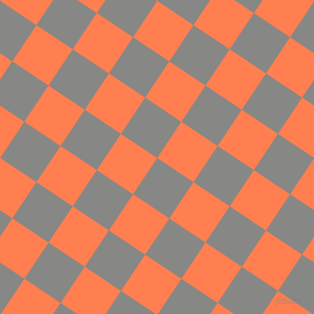 56/146 degree angle diagonal checkered chequered squares checker pattern checkers background, 62 pixel squares size, , Jumbo and Coral checkers chequered checkered squares seamless tileable