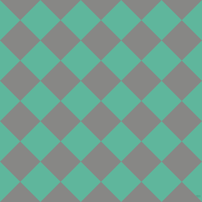 45/135 degree angle diagonal checkered chequered squares checker pattern checkers background, 96 pixel square size, , Jumbo and Keppel checkers chequered checkered squares seamless tileable