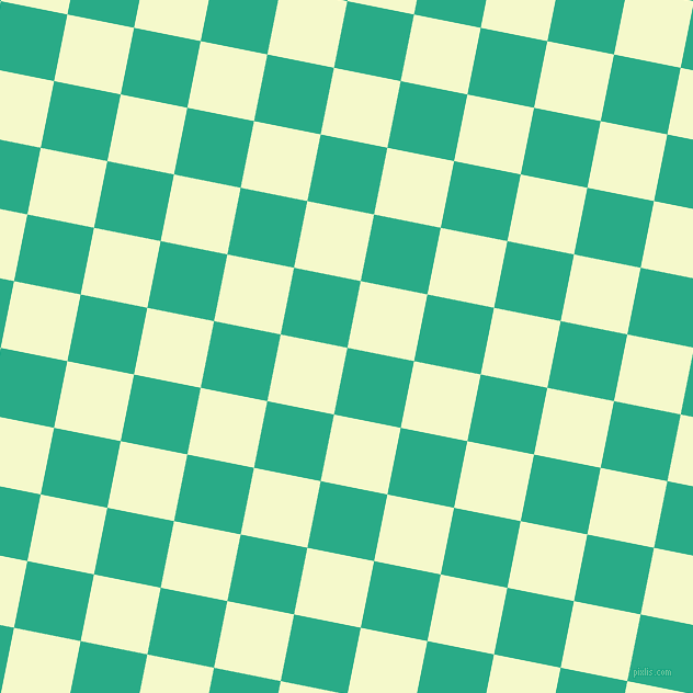 79/169 degree angle diagonal checkered chequered squares checker pattern checkers background, 62 pixel squares size, , Jungle Green and Carla checkers chequered checkered squares seamless tileable