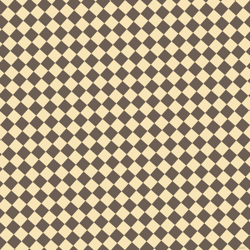 48/138 degree angle diagonal checkered chequered squares checker pattern checkers background, 35 pixel squares size, , Kabul and Barley White checkers chequered checkered squares seamless tileable
