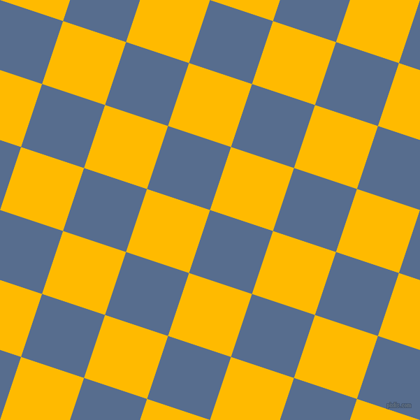 72/162 degree angle diagonal checkered chequered squares checker pattern checkers background, 95 pixel square size, , Kashmir Blue and Selective Yellow checkers chequered checkered squares seamless tileable