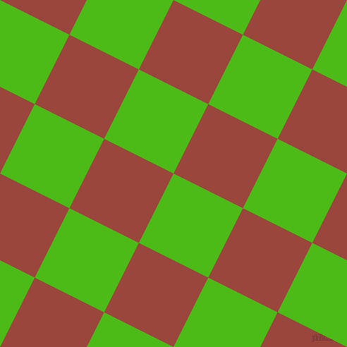 63/153 degree angle diagonal checkered chequered squares checker pattern checkers background, 110 pixel squares size, , Kelly Green and Cognac checkers chequered checkered squares seamless tileable