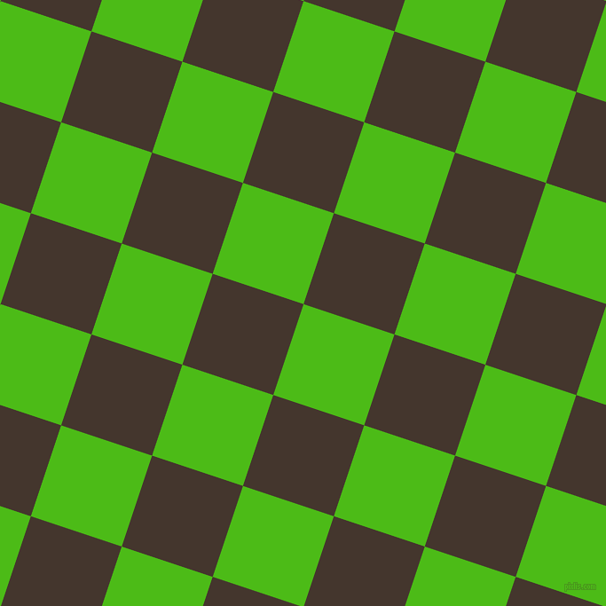 72/162 degree angle diagonal checkered chequered squares checker pattern checkers background, 108 pixel squares size, , Kelly Green and Tobago checkers chequered checkered squares seamless tileable